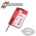 HEX BALL END L-WRENCH 1.5MM PROGUARD SINGLE BONDHUS