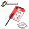 HEX BALL END L-WRENCH 2.5MM PROGUARD SINGLE BONDHUS
