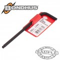HEX BALL END L-WRENCH 4.0MM PROGUARD SINGLE BONDHUS