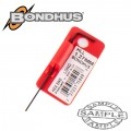 HEX END L-WRENCH 1.27MM PROGUARD SINGLE BONDHUS