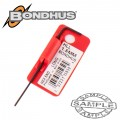 HEX END L-WRENCH 1.5MM PROGUARD SINGLE BONDHUS