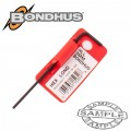 HEX END L-WRENCH 2.0MM PROGUARD SINGLE BONDHUS