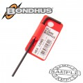 HEX END L-WRENCH 2.5MM PROGUARD SINGLE BONDHUS