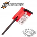HEX END L-WRENCH 5.0MM PROGUARD SINGLE BONDHUS