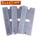 SCRAPER REPLACEMENT BLADES 100PC PER PACK 38MM