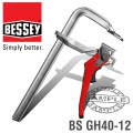 BESSEY STEEL LEVER CLAMP 400 X 100MM