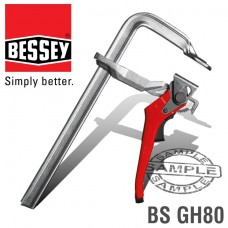 BESSEY STEEL LEVER CLAMP 800X120MM