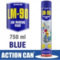 LM-90 BLUE 750ML LINE MARKING PAINT