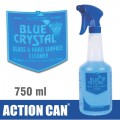 BLUE CRYSTAL GLASS CLEANER 750ML