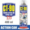 CT-90 HIGH CLING FOAMING CUTTING FLUID FOAM CUT 400ML