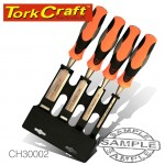 CHISEL SET WOOD 4 PIECE IN BLISTER