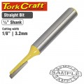 "ROUTER BIT STRAIGHT 1/8"" (3.2MM)"