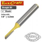"""ROUTER BIT STRAIGHT 1/8"""" (3.2MM)"""