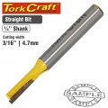 "ROUTER BIT STRAIGHT 3/16"" (4.762MM)"