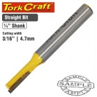 """ROUTER BIT STRAIGHT 3/16"""" (4.762MM)"""
