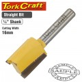 ROUTER BIT STRAIGHT 16MM