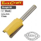ROUTER BIT STRAIGHT 17MM