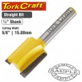 "ROUTER BIT STRAIGHT 5/8"" (15.88MM)"