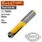 ROUTER BIT TRIM 16MM X 20MM