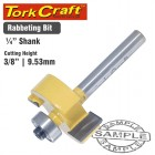 ROUTER BIT RABBETING 3/8""