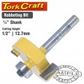 ROUTER BIT RABBETING 1/2""
