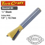 """ROUTER BIT DOVETAIL 1/2"""""""