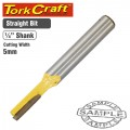 ROUTER BIT STRAIGHT 5MM