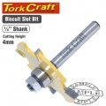 ROUTER BIT BISCUIT JOINT 4MM