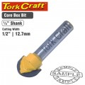 ROUTER BIT CORE BOX 1/2""