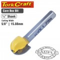 ROUTER BIT CORE BOX 5/8""