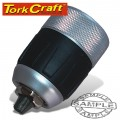 CHUCK KEYLESS 13MM 1/2X20 UNF METAL