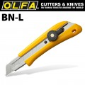 OLFA CUTTER MODEL BN-L SCREW LOCK SNAP OFF KNIFE