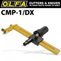 OLFA COMPASS CUTTER WITH RATCHET & 10 SPARE BLADES