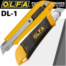 OLFA KNIFE INCOPORATING SNAP OFF BLADE DISPENSER SNAP OFF TYPE 18mm