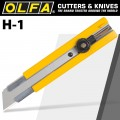 OLFA CUTTER MODEL H-1 EXTRA HEAVY DUTY SNAP OFF KNIFE CUTTER