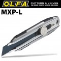 OLFA CUTTER 18MM WITH BLADE WHEEL LOCK + EXCELBLACK BLADE