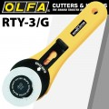 OLFA CUTTER MODEL RTY-3/G ROTARY