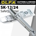 OLFA STAINLESS STEEL KNIFE IN PLASTIC BAG