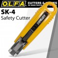 OLFA MODEL SK-4 SAFETY CARTON OPENER BOX KNIFE