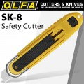 OLFA AUTOMATIC SELF-RETRACTING SAFETY KNIFE & BOX OPENER