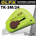 OLFA MAGNETIC TOUCH KNIFE 24 PER PACK