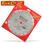 DIAMOND BLADE SEGMENTED 230MM FOR CONCRETE 12MM DEEP SEGMENTS