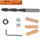 DOWEL KIT 10MM - 22 PIECE