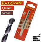 DRILL BIT MASONRY/CONCRETE  4.0MM 1/CARD
