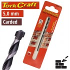 DRILL BIT MASONRY/CONCRETE  5.0MM 1/CARD