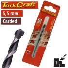 DRILL BIT MASONRY/CONCRETE  5.5MM 1/CARD