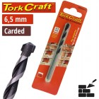 DRILL BIT MASONRY/CONCRETE  6.5MM 1/CARD