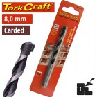 DRILL BIT MASONRY/CONCRETE  8.0MM 1/CARD