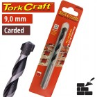 DRILL BIT MASONRY/CONCRETE  9.0MM 1/CARD
