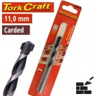 DRILL BIT MASONRY/CONCRETE  11MM 1/CARD